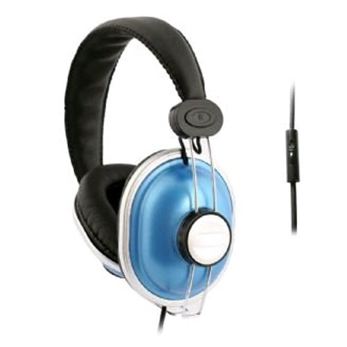 Purchase UMA - DJ Style Headphones with Handsfree Remote - Blue