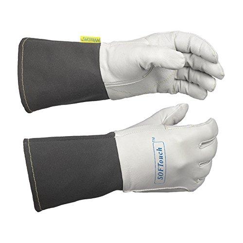 WELDAS SOFTouch, guantes de soldadura TIG muy suaves y de excelente sensación 10-1004