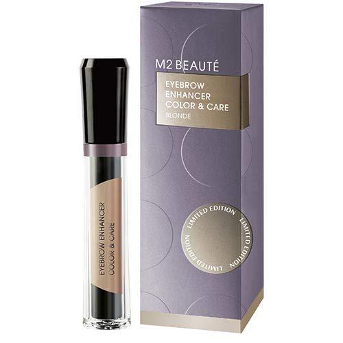 M2 Beauté Eyebrow Enhancer Color & Care Augenbrauenpflege, Blonde, 6 ml