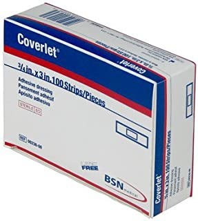 featured product BSN Medical/Jobst 00230 Coverlet Fabric Adhesive Bandage, Latex Free, 3/4 Width, 3 Length (Pack of 100)
