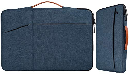 Laptoptasche mit Handgriff, für HP Envy 17 17t / Pavilion 17 / Dell Inspiron 17 / G3 / G7 17.3 / Lenovo Ideapad L340 / Acer Aspire 17.3 / ASUS ROG MSI GS75 17.3 / Blau