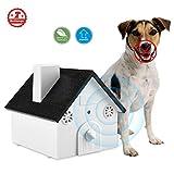 Anti Barking Device Sonic No Bark Deterrents Shock Collar Pet Training Dog Collar Outdoor Bark Control Ultrasonic Dog Repeller