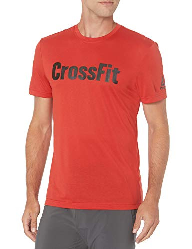 Reebok Camiseta Crossfit para hombre - GJH30, Playera de lectura...