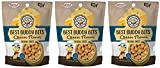 Exclusively Pet 3 Pack of Best Buddy Bits Cheese Flavor Training Treats for Dogs, 5.5 Ounces Per Pack