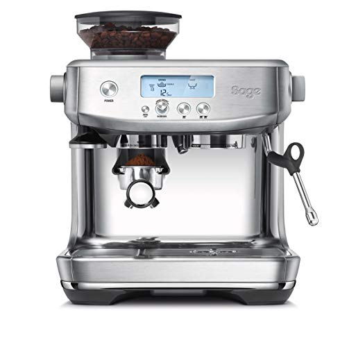 Sage Appliances SES878BSS the Barista Pro Bean to Cup, 1680 W, 2 liters, Brushed Stainless Steel