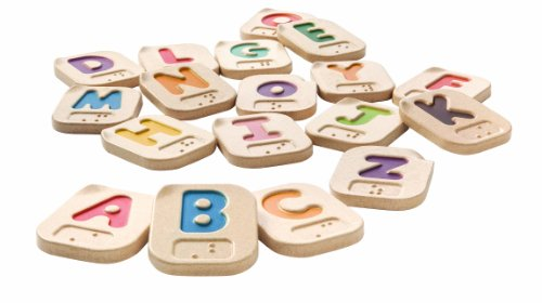 Great Gizmos Plan Toys Blindenschrift-Alphabet A-Z