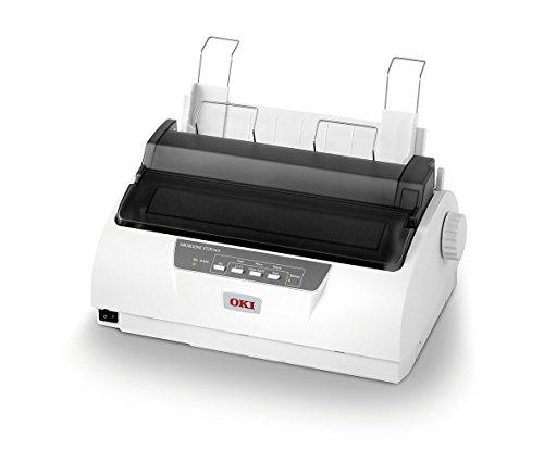 Stampante OKI ad aghi, sistema di stampa 9 aghi a impatto, 80 colonne, 375 cps (caratteri al secondo)