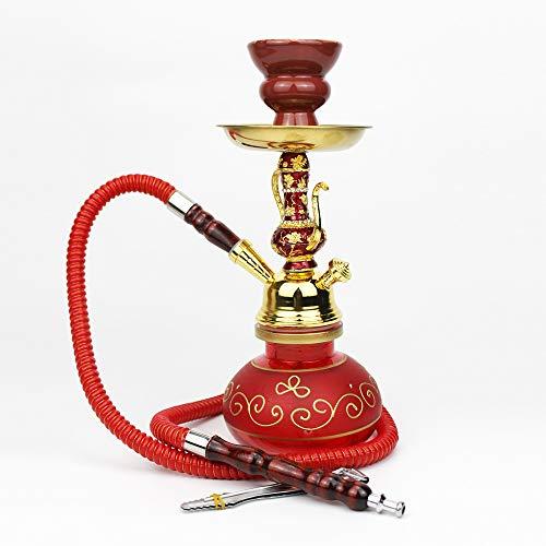 Arabische Shisha Set Glas Shisha Aladdin Wunderlampe Modell 27.5Cm Rauchen Genießen