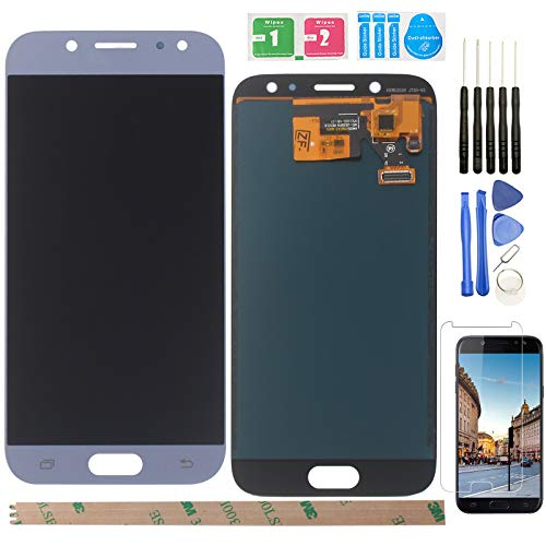 Ocolor di Riparazione e Sostituzione per Samsung Galaxy J5 (2017) J530 SM-J530F LCD Display + Touch Screen Digitizer con Utensili Inclusi (Blu)