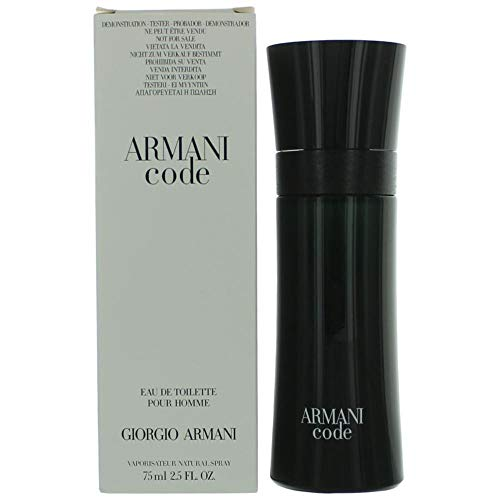 Giorgio Armani Code Men's 2.5 Fl Oz Eau de Toilette Spray (Plain Box Packaging)