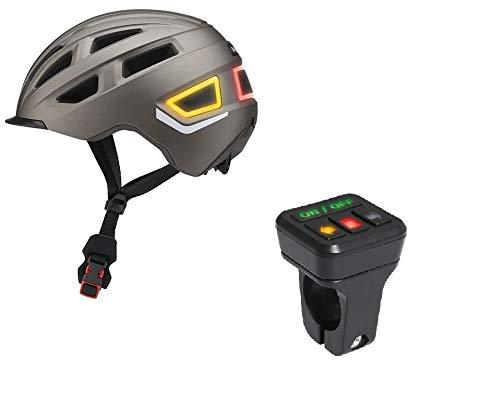 Smart Fahrradhelm Helm Smart-Helm M/L 58/61 Herren Damen Fahrradhelm Bicycle Helmet 26 Luftkanäle City-, Pendler-, Alltags- und Toureneinsatz