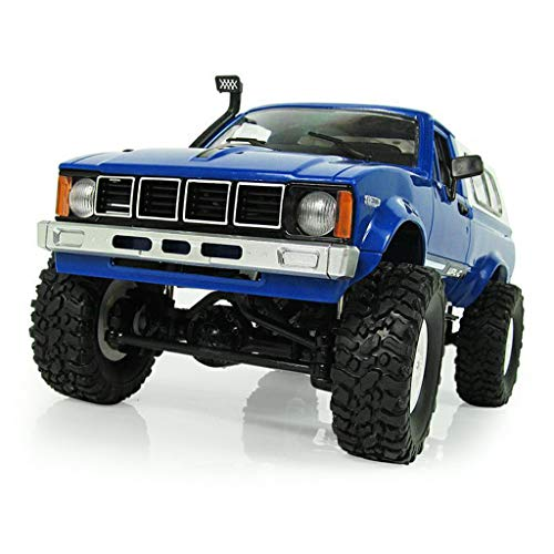 WPL C24 2.4G DIY RC Car KIT 4WD Remote Control Crawler Off-Road Buggy Moving Machine Kids Toys by Aiyouxi