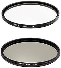Hoya 52mm HD3 UV and Circular Polarizer Filter Kit