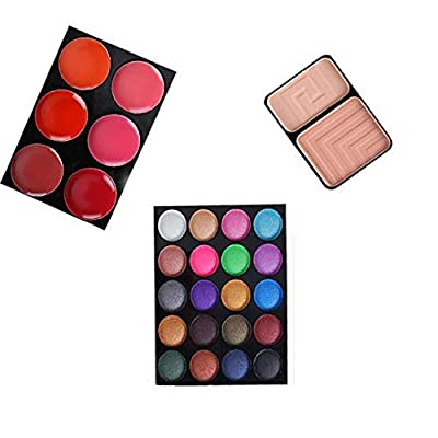 Beauty eyeshadow palette cosmetics, 32 color ey...