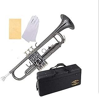 engraved trumpet