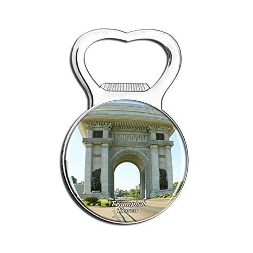 Weekino Arc de Triomphe en Corée Aimant De Réfrigérateur Bière Ouvre-Bouteille Ville Voyage Souvenir Autocollant de réfrigérateur Fort