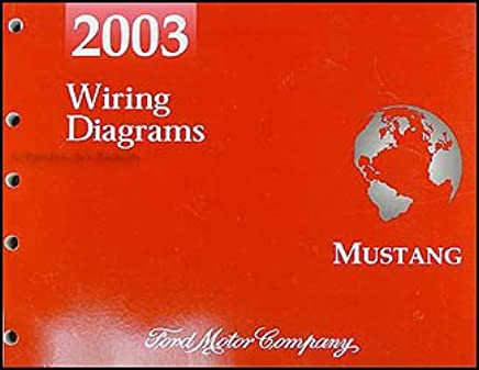 2003 Ford Mustang Wiring Diagram Manual Original Ford Amazon Com