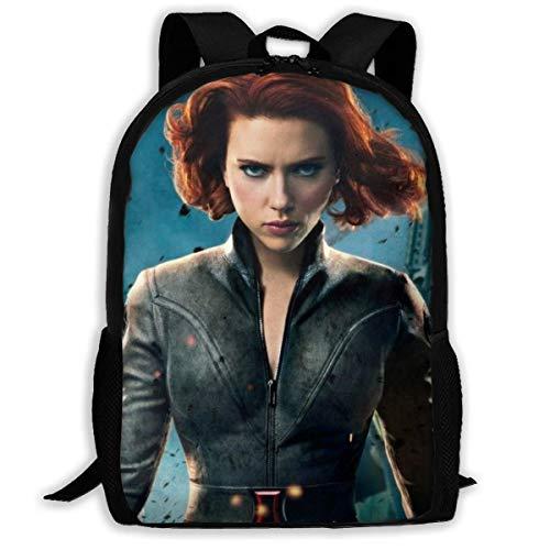 shenguang Black Widow Adult Travel Backpack Fits 15.6 Inch Laptop Backpacks School College Bag Casual Rucksack for Men & Women