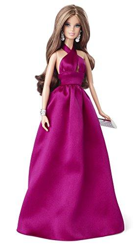 Barbie - Bdh28 - Poupée Mannequin - Look du Soir Brune