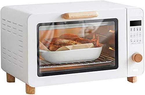 Mini tostadora tostadora tostop para hornear hornear horno portátil 1200w 30-230 ° Acero inoxidable Tubo de calentamiento eléctrico Horno inteligente