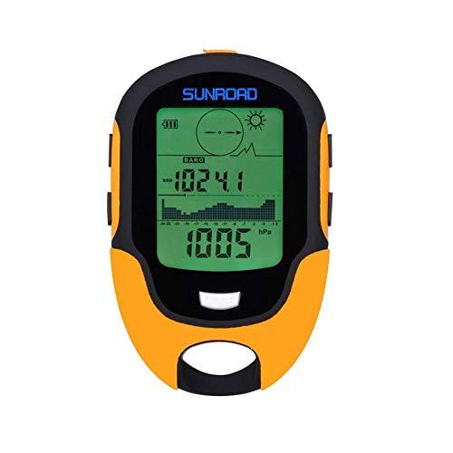 Barómetro, altímetro y brújula multifunción FR500que incorpora funciones de...