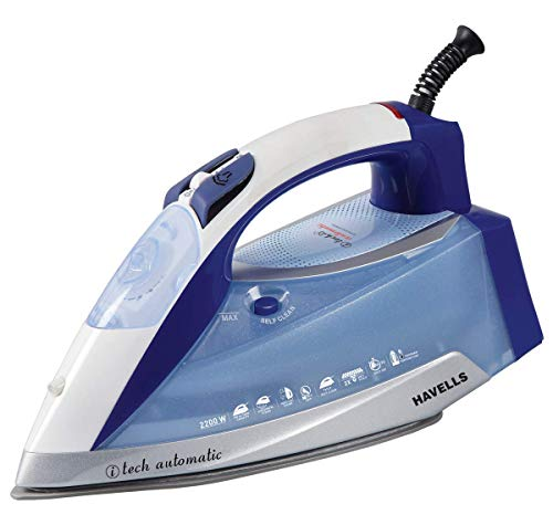 Havells Steam Iron I-Tech Automatic with Programmed Temperature Technology