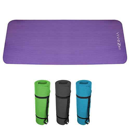 Vivezen ® Tapis de yoga, de gym, d