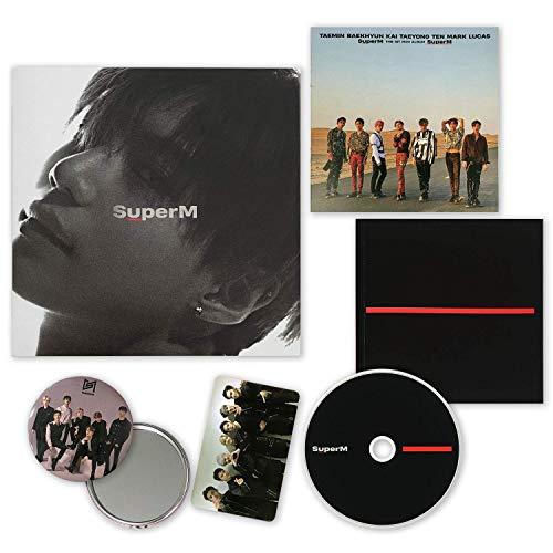SuperM 1st Mini Album - SUPER M [ TAEMIN ver. ] CD + Booklet + Mini Booklet + Photocard + OFFICIAL POSTER + FREE GIFT / K-POP Sealed.