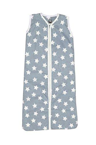 Briljant baby Winter Schlafsack mit Reißverschluss 70 cm BJORN - Grau