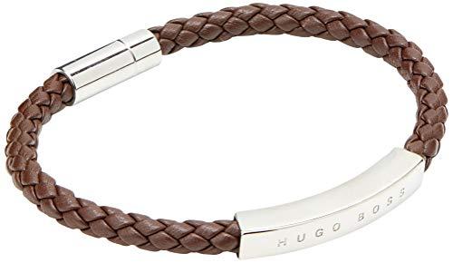 Hugo Boss Herren Benn Armband, Medium Brown210, Einheitsgröße EU