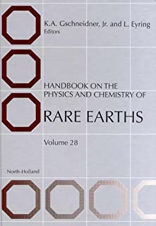 Handbook on the Physics and Chemistry of Rare Earths (Volume 28)