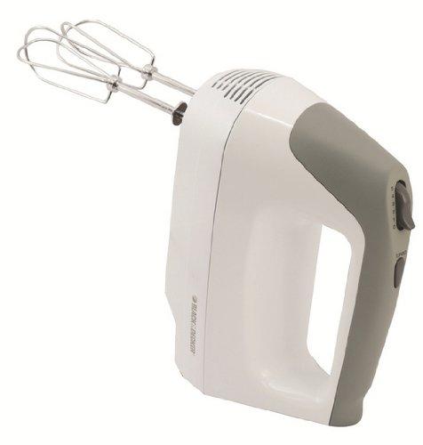 Black & Decker Power Pro Hand Mixer, White