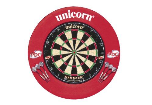 Unicorn Unisex Striker Board mit Surround Center, Rot, Einheitsgröße