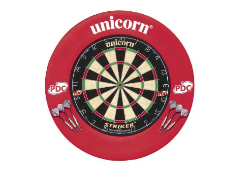 Unicorn Striker Bristle Dartboard & EVA Dartboard Surround