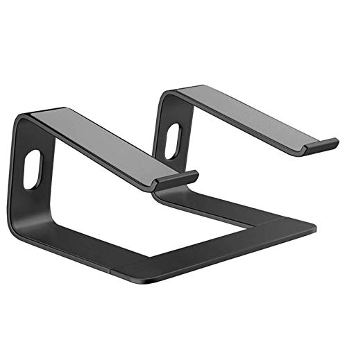 Laptop Stand Aluminum Laptop Stand for Desk Compatible for Portable Holder Ergonomic Elevator Metal Riser for 10 to 15.6 in for Pad Portable