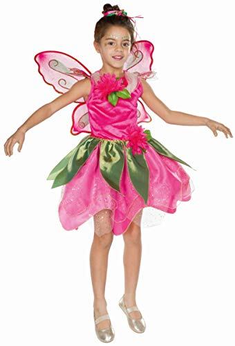 Mottoland Kinder Kostüm Waldfee Fee Elfe Karneval Fasching Gr. 128