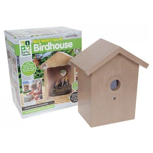 Secret Bird Watcher Bird House by BARGAINS-GALORE