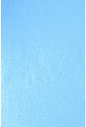 Light Blue Crepe Paper Fold