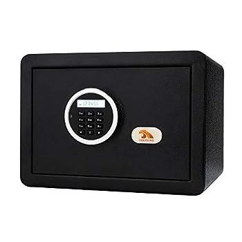 TIGERKING Security Digital Safe Electronic Safe Box for Home - Black