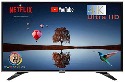 """Nevir NVR-9000-434K2S-SM 43"""" LED 4K – Mejor televisor Nevir"""