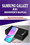SAMSUNG GALAXY A21 BEGINNER'S MANUAL: Tips and Tricks You Should Know About The Samsung Galaxy A21 (English Edition)