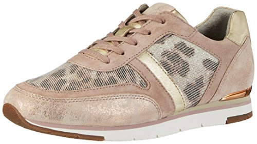 Gabor Shoes Damen Fashion Sneaker, Beige (rame/Rouge/Platino 43), 38.5 EU