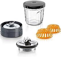 Bosch 3 in 1 kit: molen / hakmolen / opslag MUZ45XCG1, zwart