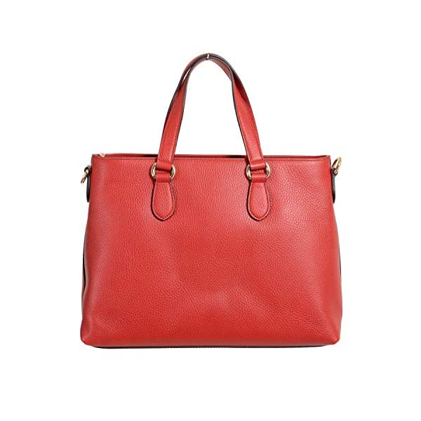 Fashion Shopping Gucci 100% Leather Red Women's Handbag Shoulder Bag