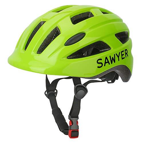 Sawyer - Casco Infantil Ajustable - Niños 2, 3, 4 y 5 Años (Verde)