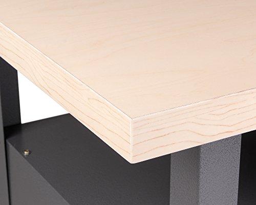 Ondis24 stabile 120 cm breite Montagewerkbank Werkstatteinrichtung Werkstatt Werkbank Werktisch mit abschließbarer Tür, stabiles Modell mit höhenverstellbaren Füßen - 7