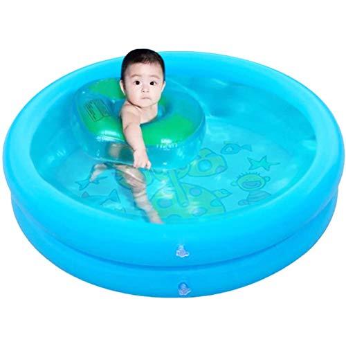 YAQIAN Piscina inflable, piscina inflable para bebés, piscina familiar, centro de natación para exteriores, jardín, patio trasero, fiesta de agua de verano