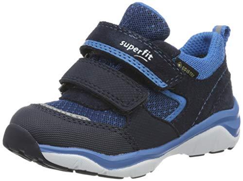 Superfit Jungen SPORT5 Sneaker, Blau (Blau/Blau 80), 24 EU