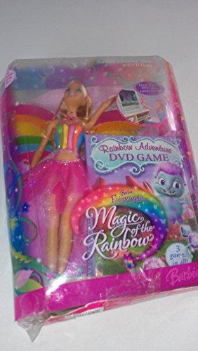 Barbie Fairytopia Magic of the Rainbow 12 Inch Doll - Rainbow Adventure Elina with DVD Game