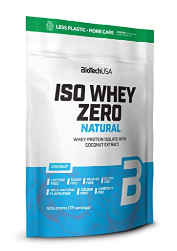 BioTechUSA Iso Whey Zero Natural, Coconut, 1.9 kg